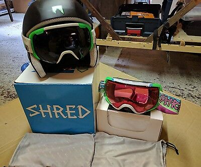 SHRED casco sci Brain con due Maschere Shred Stupefy e Smartefy