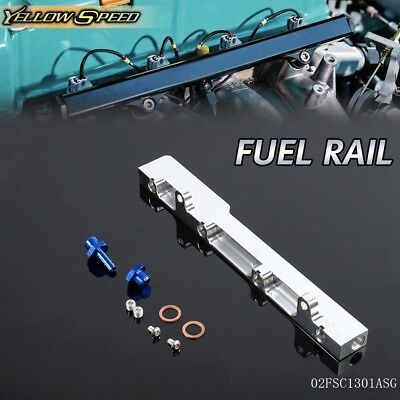 UK For HONDA Civic Crx Del Sol D15 D15A D16 D16A SOHC High Flow Fuel Rail Kit