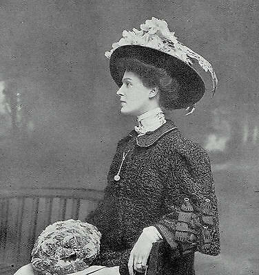 Lady Herbert Beatrice Eleanor Paget Countess Of Pembroke 1908 Photo Article 9679