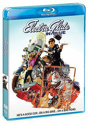 ELECTRA GLIDE IN BLUE (1973 Robert Blake) -    Blu Ray - Sealed Region free