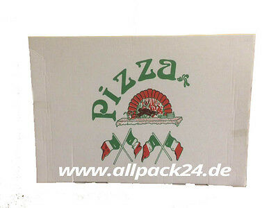 Pizzakarton 32x46x4cm , 100 Stk.,  Party Pizzakarton,  Pizzabox , allpack24