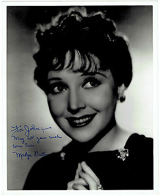 Madge Bellamy Autograph Hand Signed Photograph 8781