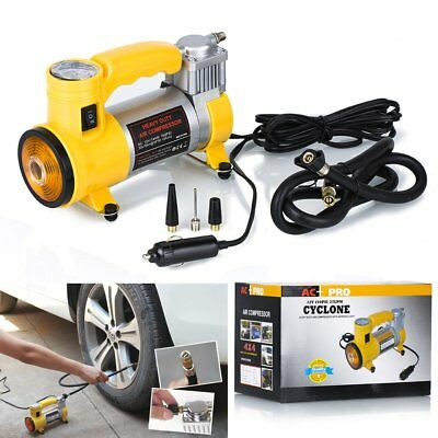 Heavy Duty Portable Electric Air Compressor Tyre Gauge Inflator Pump 150PSI 12V