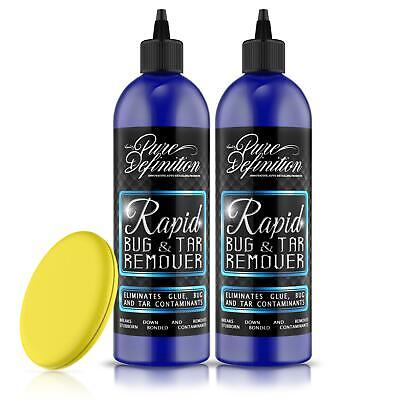 Bug and Tar Remover x 2 | Car Auto Detailing | Glue Insects ~ Pure Definition