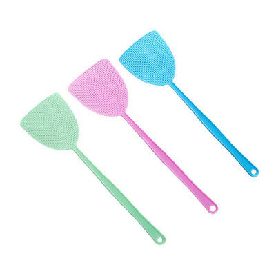 3pcs Fly Swatter Manual Swat Pest Control Sweet Color Lightweight Easy Storage