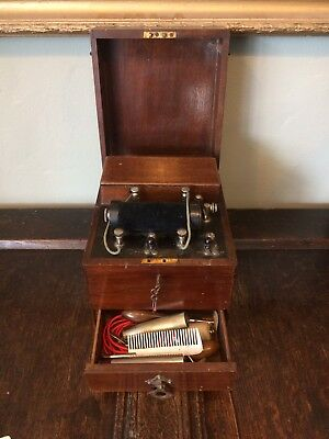 Antique Vintage Victorian Large Electric Therapy Shock Machine