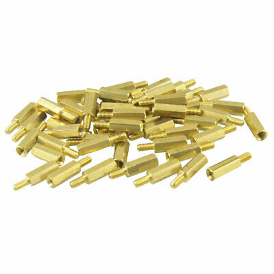 50Pcs M3 Macho x m3 Hembra Hexagonal Rosca PCB Separador Espaciador 20mm Largo