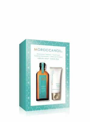 MOROCCANOIL Soft & Shine, Treatment Sondergröße 125 ml + gratis Handcreme 75ml