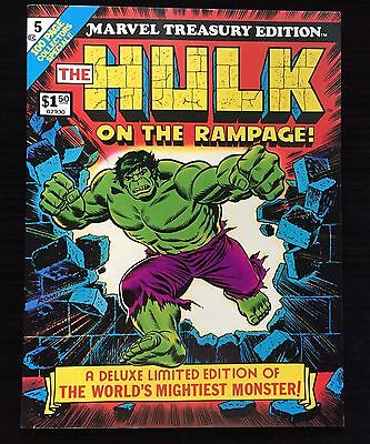 1975 Marvel Treasury Edition: The Hulk On The Rampage: Vol. 1  #5 Awesome