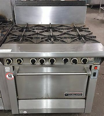 Garland Master Series Heavy Duty Range with Convection Oven MST43RCE
