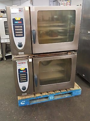 2 Stacked Rational Combi-Steamer - Self-Cooking Center Electric Ovens SCC 62