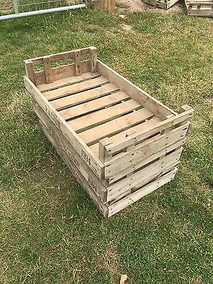 Rustic Wooden Potato Chitting Trays - £3 per tray. Bulk price can be arranged.
