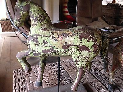 Antique Indian wooden horse