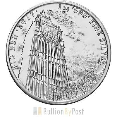 2017 Silver Big Ben 1oz - Landmarks of Britain