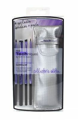 Real Techniques Original Limited Edition Eyelining Set 4 Brushs