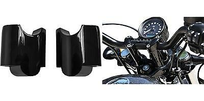 """Prolunghe Riser Neri 2"""" Altezza 5 cm Sportster Forty-Eight 48 XL1200X 2010-2019"""