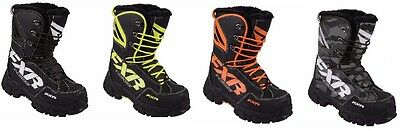"Fxr ""x-Cross"" Boots Snowmobile Water-Resistant -40C Mens - Pick Size & Color"