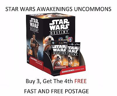 Star Wars Destiny TCG - Awakenings - Choose your Uncommon Card