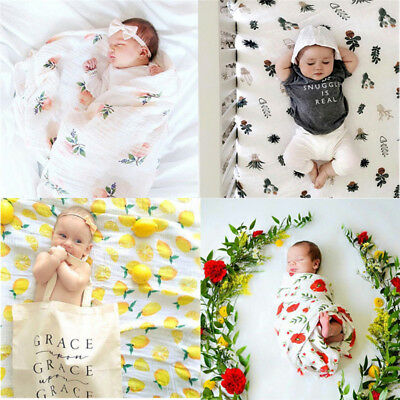 Baby Bamboo Fiber Sleeping Blanket Cover Children Sleeping Rug Baby Bedding Wrap