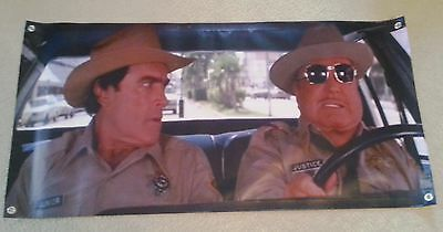Buford T. Justice Smokey & the Bandit Sunshade windshield Banner !