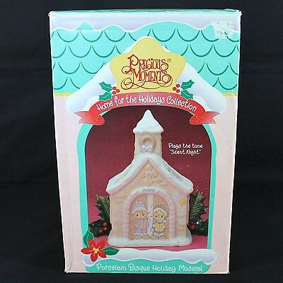 Precious Moments Chapel Home for the Holidays Musical House