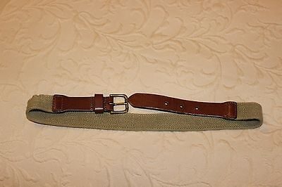 Boys Polo Ralph Lauren Khaki Belt Size 26