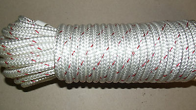 "3/8"" (10mm) x 54' Double Braid Sail/Halyard Line, Jibsheets, Boat Rope -- NEW"