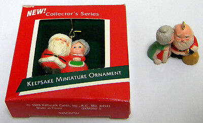 1989-1991 Hallmark miniature The Kringles ornaments #1- #3 in series