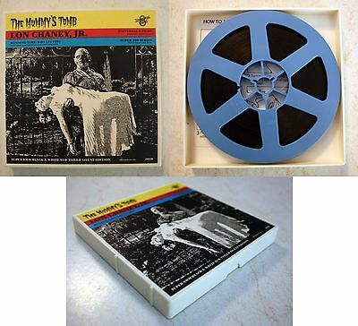 Super 8 MM: The Mummy's Tomb: Universal 8 Films (Castle) 2018 Lon Chaney horror