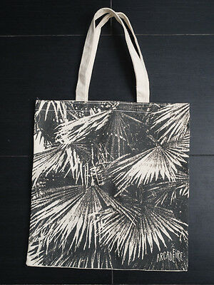 arcade fire official tote bag for the suburds  never used  new