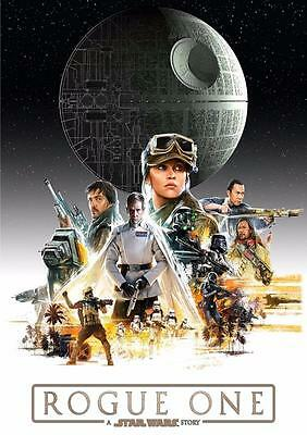 A Star Wars Story 2016 Film Cinema Poster 22x34 NEW Rogue One
