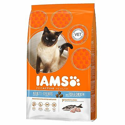 Iams Cat Food Adult Wild Ocean Fish and Chicken, 300 g