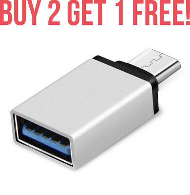 USB 3.1 USB-C Type C Male to USB A 3.0 Female Converter Adapter for Mac etc FAST