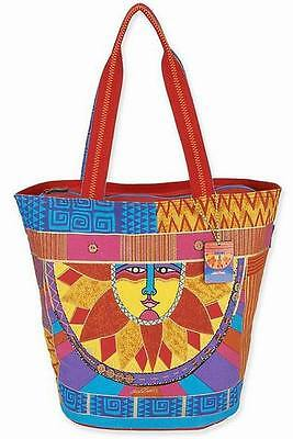 Laurel Burch Celestial Sun Spirit Large Tote Bag
