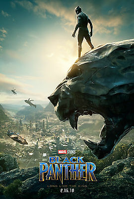 A3 size - Marvel Black Panther - MOVIE Film Cinema Home Posters Art #10