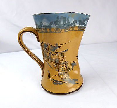 "Royal Doulton Series Ware Pitcher ""OLD BOB YE GUARD"" D2645 Rare Jug"