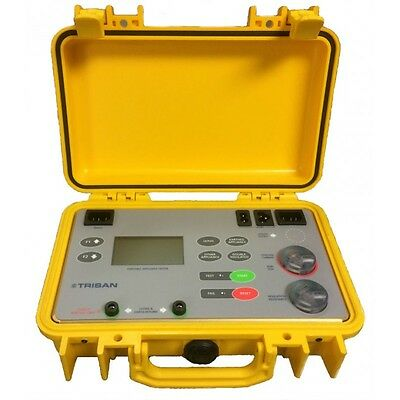 SafeTcheck S8 Portable Appliance Tester, PAT Tester, Test & Tag - New