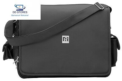 RYCO 9333242002503 Sac Deluxe Everyday Messenger Bag, Noir