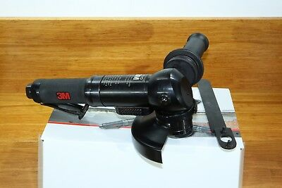 "New 3M 28824 4-1/2"" Heavy Duty 1.5 HP Air Pneumatic Angle Grinder 5/8""-11"