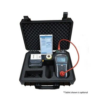 Metrel 3309-APAT Pro Kit - Portable Appliance PAT Tester with Printer Test & Tag
