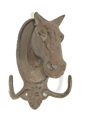 Horse Head Wall Hook Metal