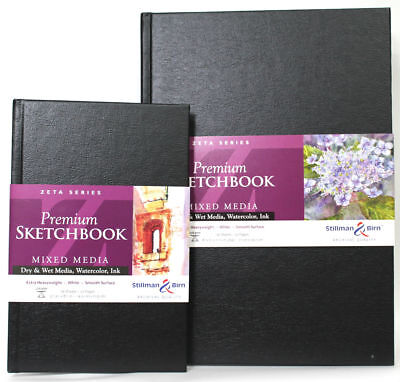 Stillman & Birn Premium Sketchbook Mixed Media - Choose Your Size