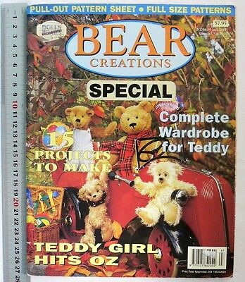 BEAR CREATIONS Special - 15 Projects & Wardrobe for Ted - 84 Pages B4