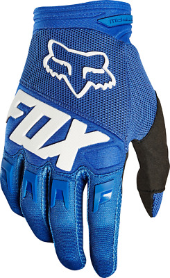 2018 Fox Youth MX Dirtpaw Race Glove Blue