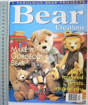 BEAR CREATIONS - Vol 4 No 2 - 9 Fabulous Bear Projects - 84 Pages B6