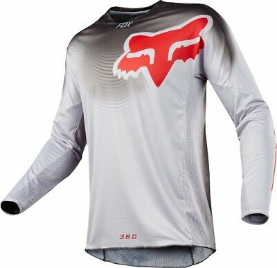 2018 Fox Mens MX 360 Viza Jersey Grey