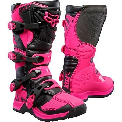 2018 Fox Youth MX Comp 5 Boot Pink