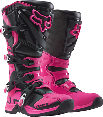 2018 Fox MX Womens Comp 5 Boot Black/Pink
