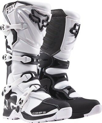 2018 Fox Mens MX Comp 5 Boot White