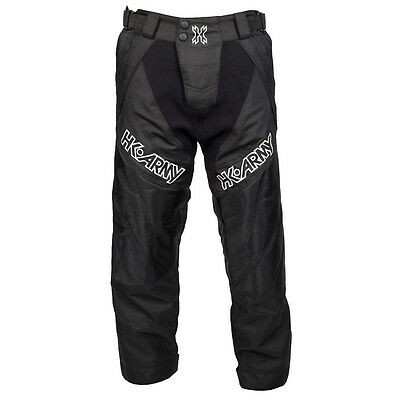 New HK Army Paintball HSTL Line Playing Pants - Black - XS/Small XS/S (26-30)